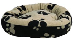 Ein kuscheliges Bettchen an einem ruhigen Platz ist perfekt für den Bully