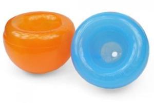 Dieses wasserfeste Spielzeug kann befüllt werden